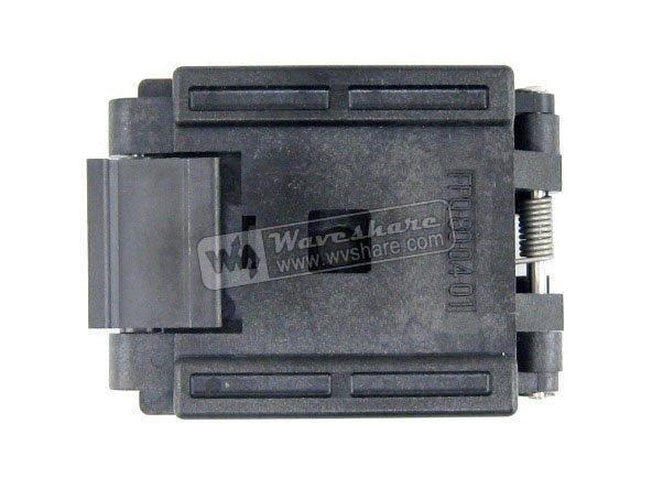 QFP80 TQFP80 LQFP80 PQFP80 FPQ-80-0.4-01  Enplas QFP IC Test Burn-In Socket 0.4mm Pitch