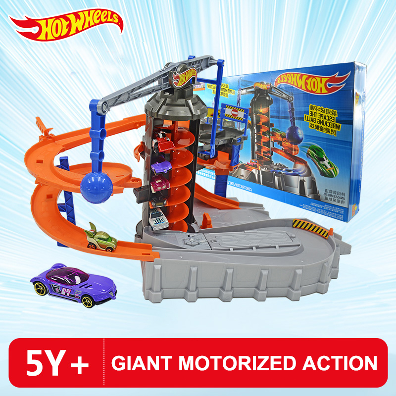Hot Wheels City Adventure Electric Zone Chaos Set Track Set DPD88 Boy Educational Toy Giant Motorized Action DPD88 Birthday Gift