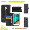 KLAIDO Genuine Leather Mobile Phone Case For Vodafone Smat Prime 7 Flip Case For Vodafone Smat