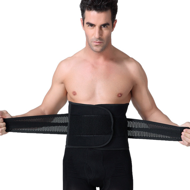 44e2e2ff02b Body Shaper Men Belly Body Shaper Male Tummy Slimming Waist Trainer Girdle  Corsets Hot Shapers for Male Slimming Belt