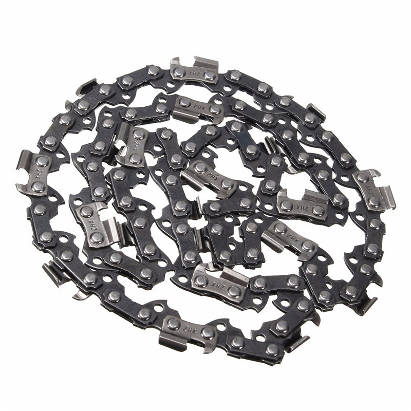 MTGATHER 12 Meatal Chainsaw Saw Chain Blade 3/8LP .050 44DL Blade Quickly Cut Wood Easy Maintenance Lowest Price 16 size chainsaw chains 3 8 063 1 6mm 60drive link quickly cut wood for stihl 039