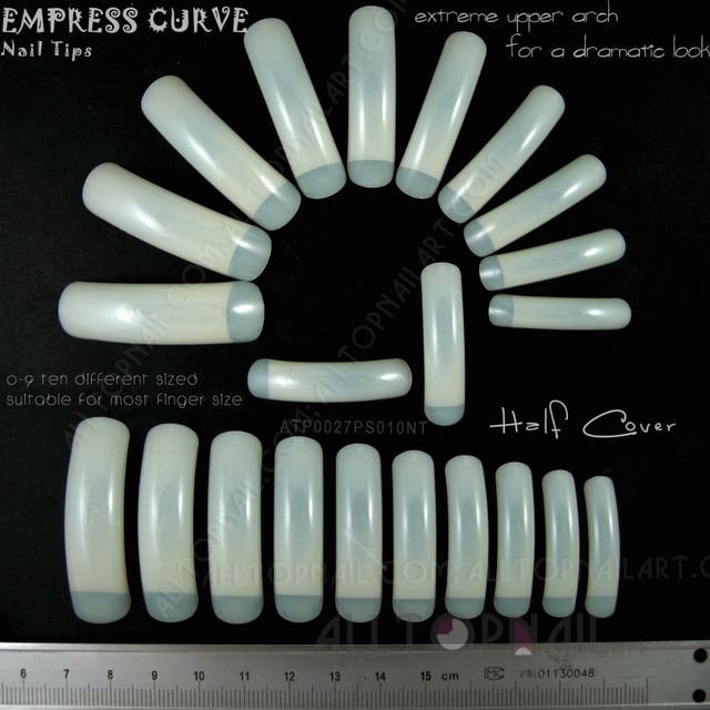 200 Sets Empress Curve False Nails Professional Extreme Long Nail ...