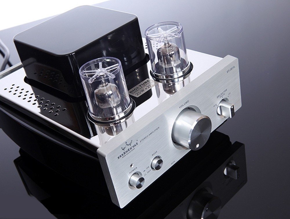 Mistral DT-307B Brand New Integrated Stereo Tube Amplifier with Bluetooth 4.0 & aptX mistral mm 6 150wx2 hybrid integrated power tube amplifier with pre out