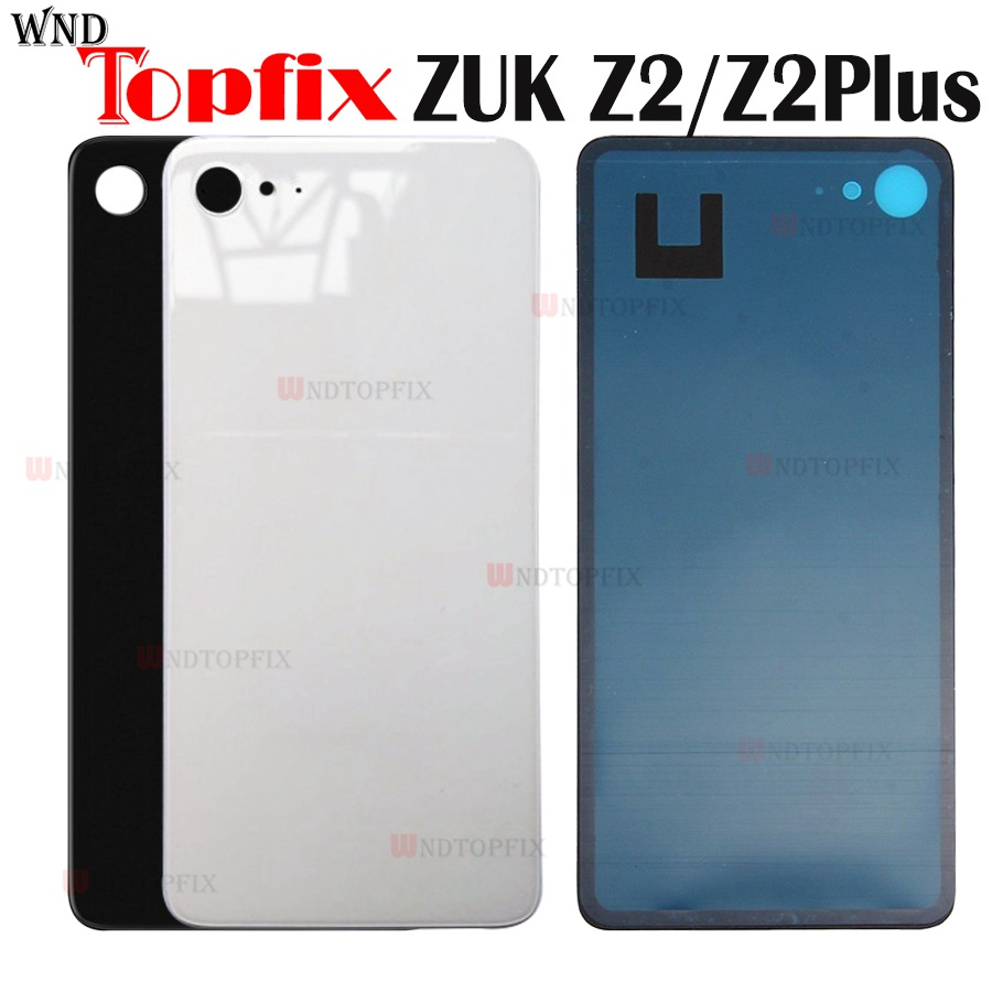 Original For Lenovo ZUK Z2 Back Cover Battery Case Glass Housing Cover for Lenovo ZUK Z2 Door Rear Replacement+Adhensive Sticker