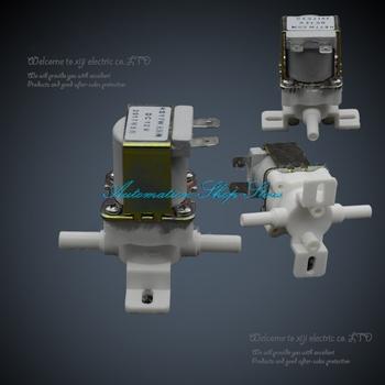 Zawór elektromagnetyczny z tworzywa sztucznego zawór elektromagnetyczny 12VDC 1 4 #8222 (6mm) do picia wody powietrza do szybkiego łączenia tanie i dobre opinie Kontrola Niskie ciśnienie NC or NO Standardowy Normalna temperatura 6mm to 6mm Inlet Water valve Drain Water valve 50°C