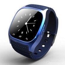 Водонепроницаемый Android Smart часы M26 женщина Для мужчин bluetooth SmartWatch синхронизации Телефонный звонок шагомер анти-потерянный для Android-смартфон