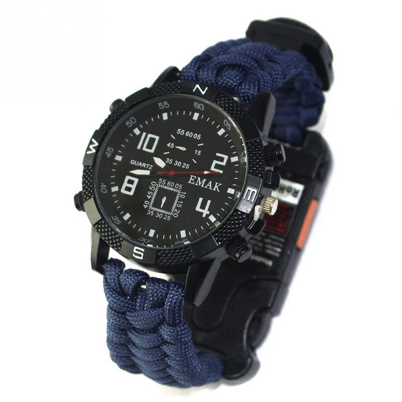 aeProduct.getSubject()  EDC Tactical multi Outside Tenting survival bracelet watch compass Rescue Rope paracord gear Instruments package HTB13ACPlpkoBKNjSZFExh6rEVXar