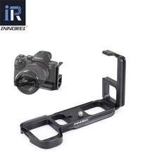INNOREL LB A7M2 L סוג שחרור מהיר צלחת LB A7 השני יד גריפ סוגר מצלמה צלחת במיוחד עבור Sony Alpha7II A7R2 A7M2 a7 השני