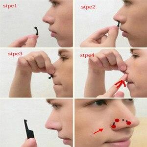 6 шт./компл. красота поднятие носа мостик формирователь массажный инструмент без боли формирование носа клипса клипер для женщин и девочек массажер 3 размера
