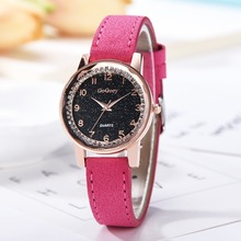 Gogoey Women Watches Starry Woman Watch New Ladies Clock Bracelet Leather Wrist Zegarki Damskie Byan Kol Saati