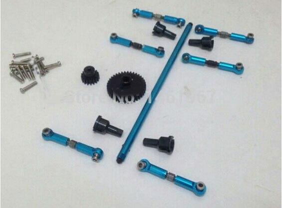 Original Wltoys A959 A969 A979 K929 118 Rc Car Pull Rod Metal Upgrade Sets for Wltoys 118 RC Car Part