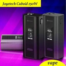 Original joyetech cuboide caja vape mod cigarrillo electrónico de control de temperatura 150 w tc150w caso sin líquido