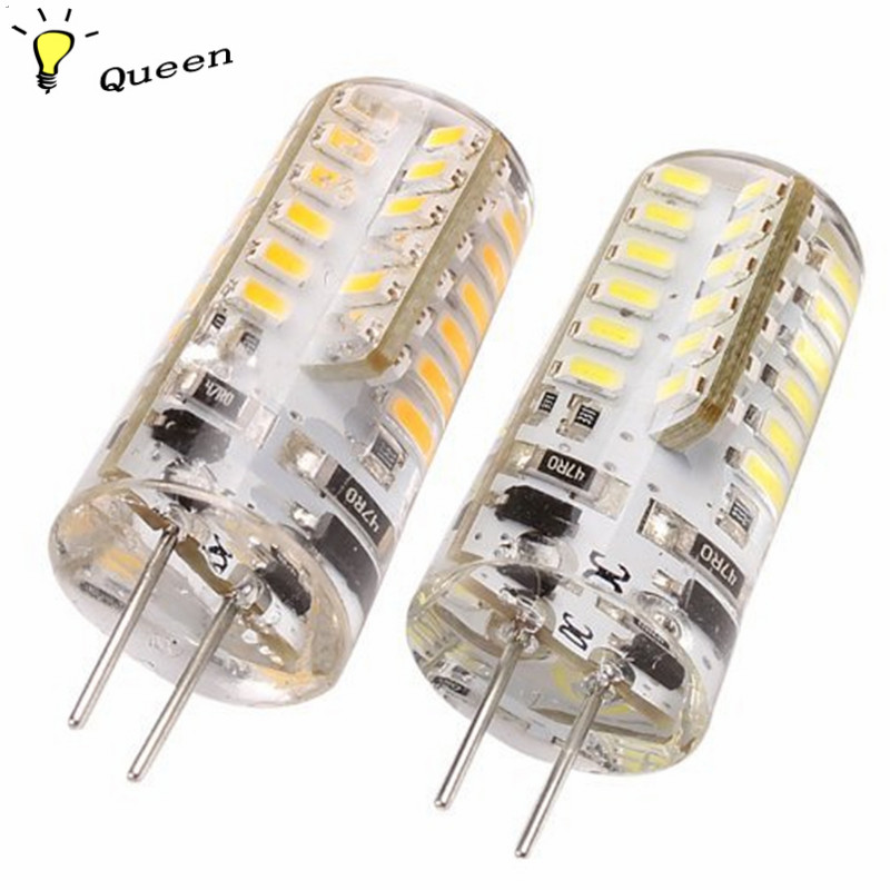 buy led lamp g4 12v led 220v g4 base led bulb lamp high power smd3014 dc 12v whitewarm white light 360 degrees beam angle led from
