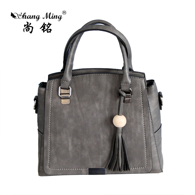 ShangMing 2017 Fashion New Women Handbag Tassel PU Leather Female Shoulder Bag Top-Handle Tote Bags Ladies Vintage Messenger Bag new fashion women pu leather shoulder bags vintage tassel female messenger bag ladies handbag clutch bags bolsa feminina dec28