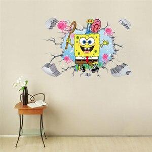 Spongebob 3D 4D Floor Wall Dec