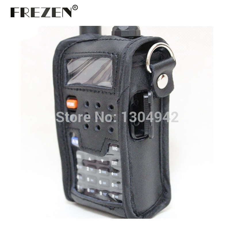Radio Leather Pouch Soft Case Accessories For Walkie Talkie BAOFENG UV-5R UV-5RA UV-5RE UV-5RG Telsiz