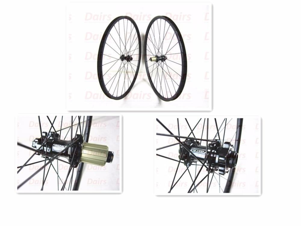29er MTB Straight pull  27mm width UD matte carbon FASTace DA206 thru axle mtb wheel bicycle wheels light bicycle roda mtb 29 carbon rear wheels