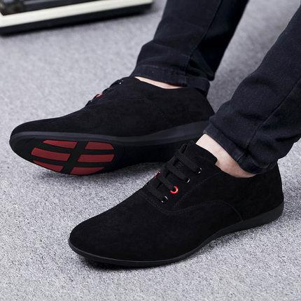 Primavera/otoño zapatos transpirables para Hombre, zapatos informales con cordones, zapatos planos para Hombre, zapatos de lona para caminar al aire libre, Zapatillas para Hombre ¡Novedad de 2019! Sandalias con agujeros para Hombre, sandalias de cuero para Hombre, sandalias de verano para Hombre