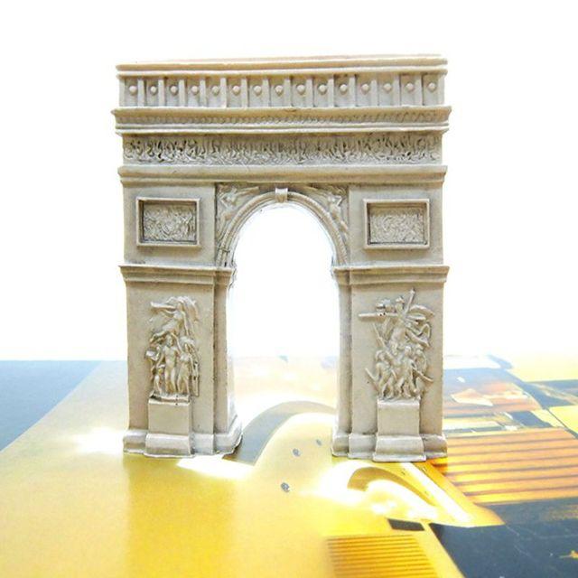 New Creative 3D France Paris Arc de Triomphe Refrigerator Fridge ...