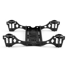 JMT New Mini 100mm Carbon Fiber Frame kit with Motor Mount Protector for DIY Indoor FPV