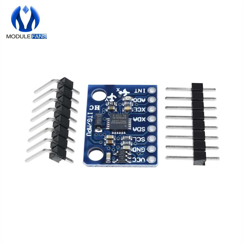 GY-521 MPU-6050 mpu6050 sensor módulo 3 eixo triplo giroscópio acelerômetro placa compatível para arduino iic i2c interface 6050