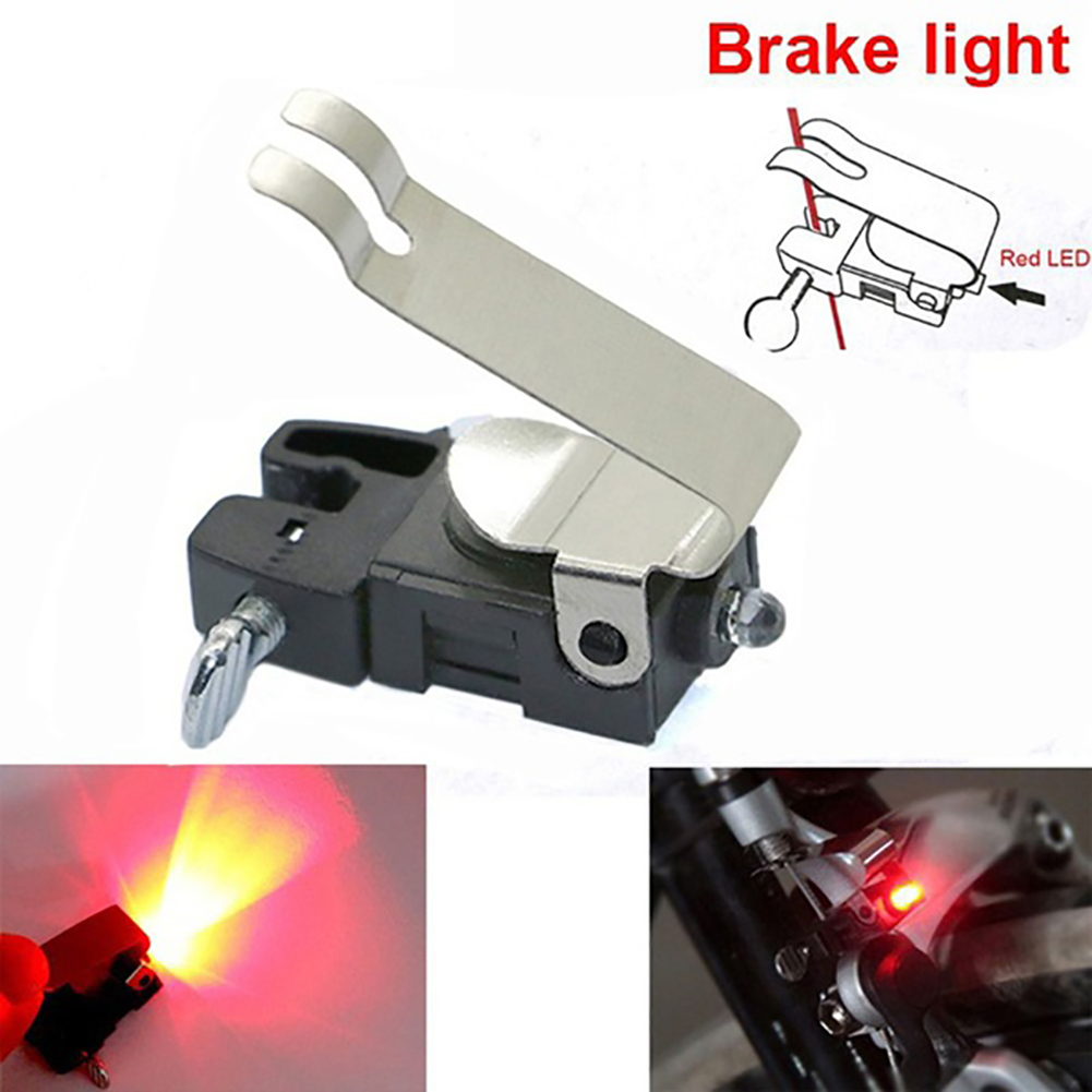 LED Waterproof Cycling Brake Bike Light Mount Tail Rear Bicycle Light High Brightness Red LED Lamp Cycling Accessories