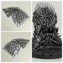 Game Of Thrones The Iron Throne & Ice wolf head A Song Of Ice And Fire Figures Action & Toy Figures One Piece Wall decoration