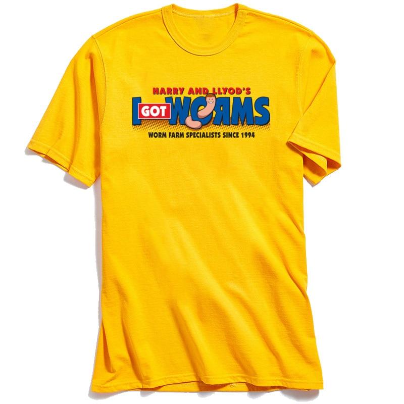 Hip hop Men Tshirt I Got Worms O Neck T Shirt Summer Fall Tops T Shirt Short Sleeve Mens 2018 New Fashion 100 Cotton Tee in T Shirts from Men 39 s Clothing