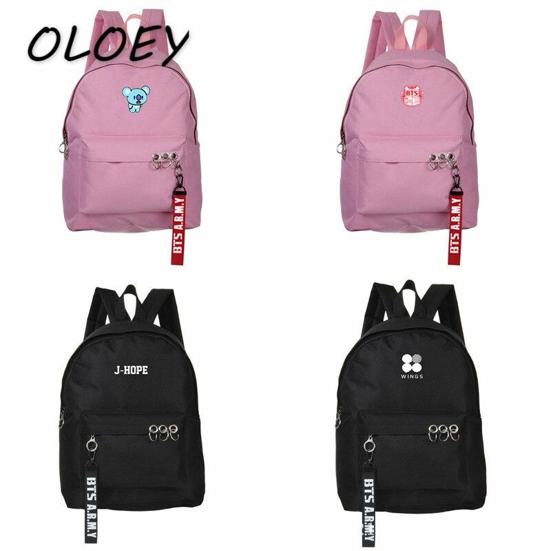 050807f67dfe Купить Бесплатная доставка BTS Рюкзак Корея Bangtan мальчики студенты  Bookbag подросток девочки сумка школьная сумка Высокая емкость сумка для  ноутбука ...