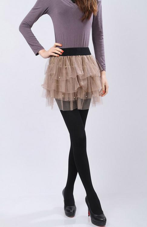 nylon stockings for women panty hose warm tights sexy collant sans soudure opaque 4 colors step - Collants Opaques Colors
