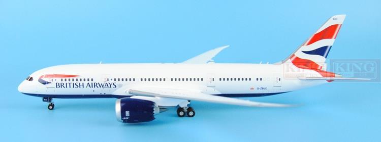 GeminiJets British Airways G-ZBJC G2BAW542 1:200 B787-8 commercial jetliners plane model hobby