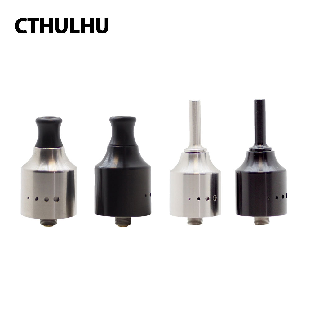 все цены на Original Cthulhu 1928 MTL RDA Single Coil RDA 22mm Diameter with Dome of The Top Cap & BF Pin for Squonker MODs E-cig Vape Tank