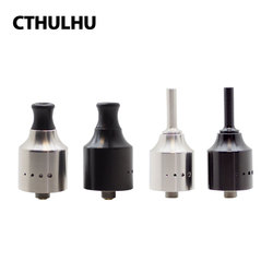 Original Cthulhu 1928 MTL RDA Single Coil RDA 22mm Diameter with Dome of The Top Cap & BF Pin for Squonker MODs E-cig Vape Tank