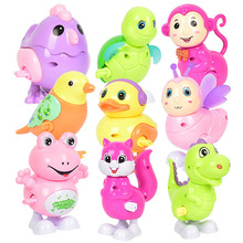 Kids Classic Wind Up Animal Clockwork Toys Jumping Frog Ducks birds bee Vintage Toy For Children Boys Educational Free Shipping iwish halloween wind up green ghost goblin zombies jump vampire winding walking frankenstein jumping kids toys all saints day