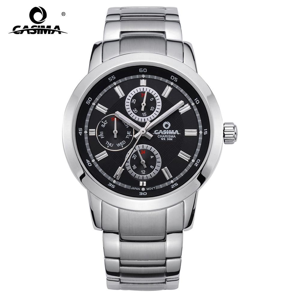 Men business watch Luxury brand watches dress leisure 2016 Top fashion quartz wrist watch mens waterproof CASIMA #5105