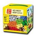 625 unids diy building blocks ladrillos creativa juguetes para niños brinquedos educativos compatible con lepin