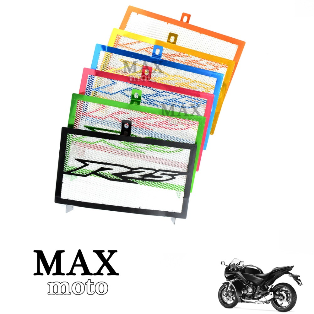6 colors optional Motorcycle Radiator Grille Guard Protector dirt bike Cover protective  FOR yamaha yzf-25 yzf R25 2015 2016 motorcycle arashi radiator grille protective cover grill guard protector for yamaha yzf r1 2004 2005 2006