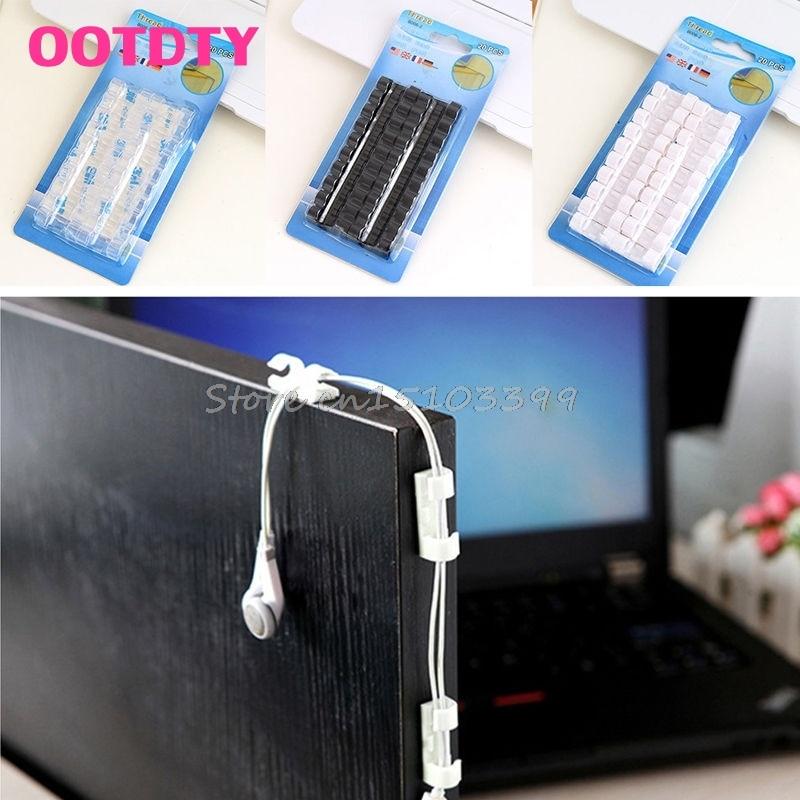 Кабельные скрепки 20 USB # G205M