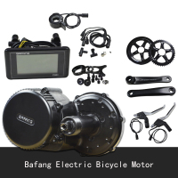 Bafang Electric Bicycle Motor BBS02 48V 750W 8fun/bafang motor BBS02 mid crank motor with color display