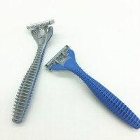 2 шт./компл. пакет Для мужчин лица бритвенных лезвий борода лезвие бритвы Для мужчин высокое качество Sharp заменить для Gillettee Fusione