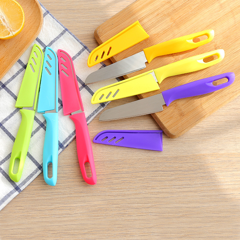 1pcs 20cm Stainless Steel Kitchen Knives Chef Paring Fruit Veg Meat Sushi Fish Sashim Kitchen Cooking Knife Kitchen Accessories