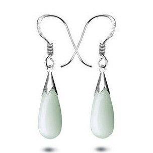 f62c02c4f58d 2016 moda gema 925 gota de agua de plata esterlina boda joyería al por mayor