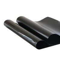 2PLY 0 VLT Black Car Home Glass Window TINT TINTING Film Vinyl Roll Hot Sale 50X600cm