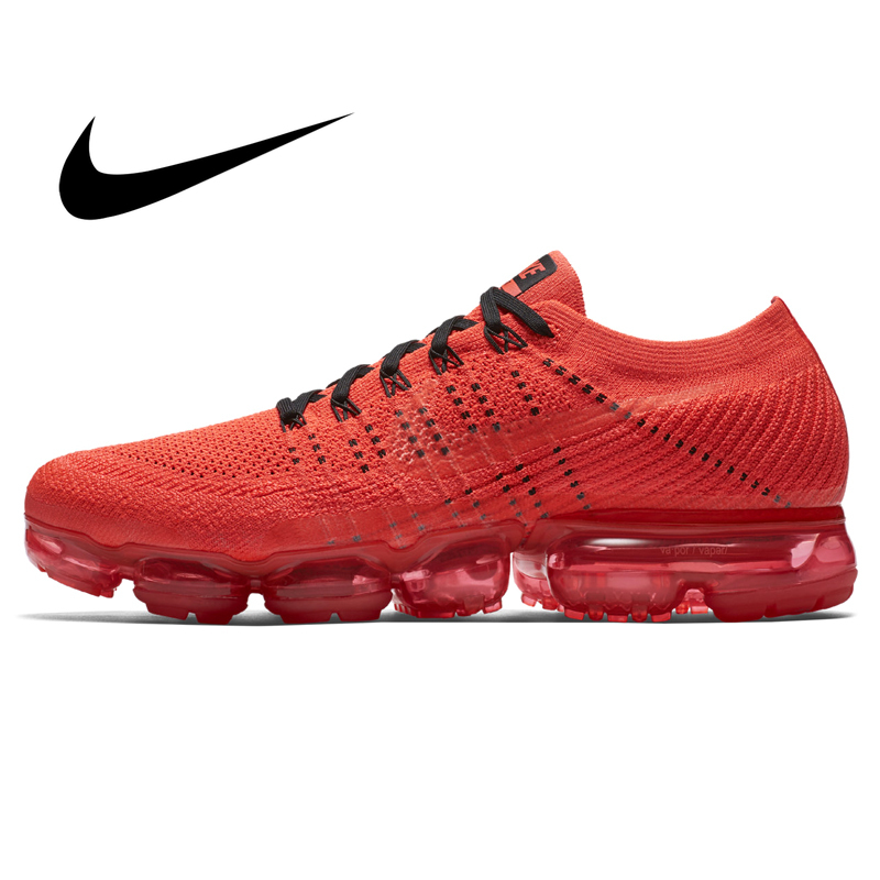 Original Authentic Nike Air VaporMax Mens Running Shoes Sports Outdoor Sports Breathable Comfort Lightweight Sneaker 849558-013Original Authentic Nike Air VaporMax Mens Running Shoes Sports Outdoor Sports Breathable Comfort Lightweight Sneaker 849558-013