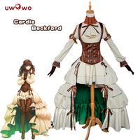 UWOWO Cardia Beckford Cosplay Code Realize Costume Women Dress Full Set Cardia Beckford Arsene Lupin Code