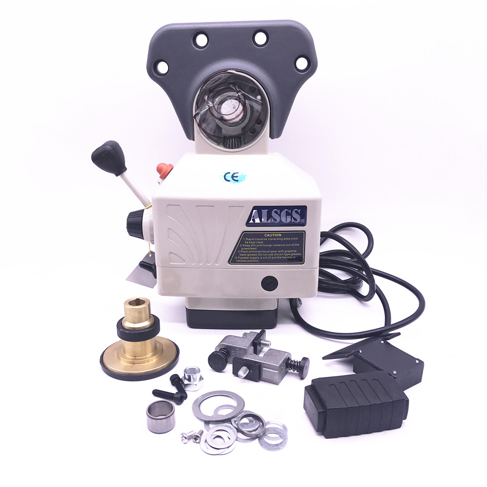 ALSGS AL 310S Power Feed 450in lb 200RPM AC110V 220V Power Table Feed Larger Torque Milling