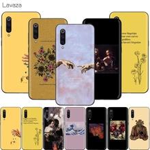 Lavaza Aesthetics Yellow Oil Painting Case for Xiao