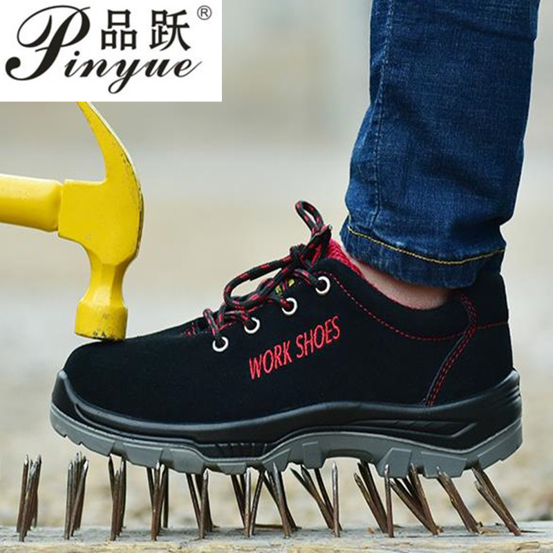 Men safety shoes safety boots work boots work shoes Steel toe chaussure de securite zapatos de