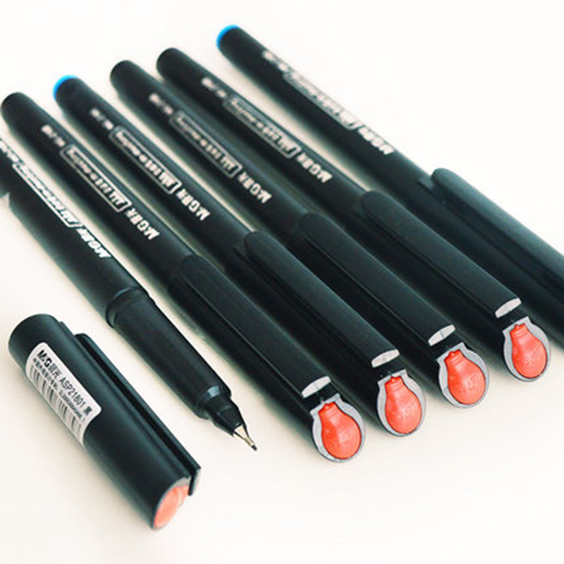 M&G Boao Asia Forum designated meeting pen MG2180 fiber signature pen neutral pen tt tf ths 02b hybrid style black ver convoy asia exclusive