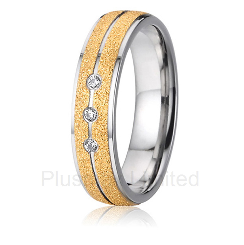 China Supplier amazing selection of titanium jewelry finger ring engagement wedding band for men and women best china factory amazing selection of gold color heart shape titanium wedding band rings for couples